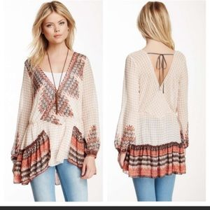 Free People Into the Mystic Peasant Tunic